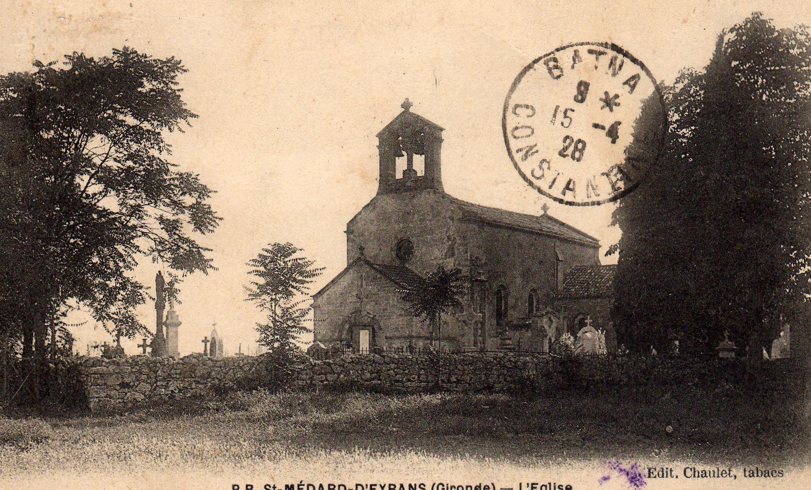 L'église en 1908
